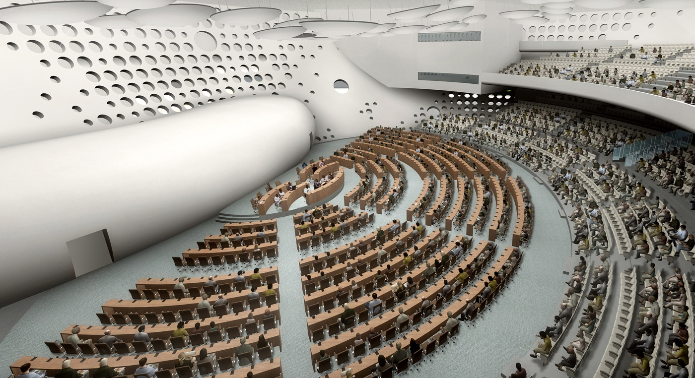 International conference center caau architects for International architecture and design