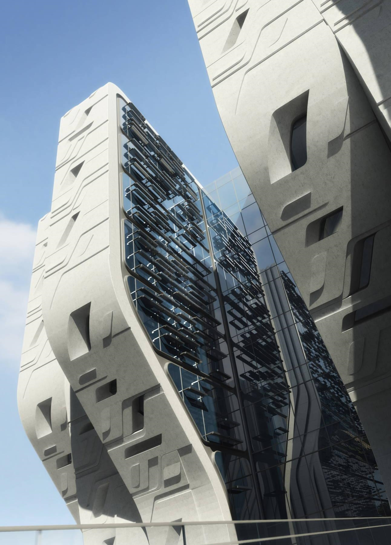 How The Queen of Curves Zaha Hadid Touched Africa