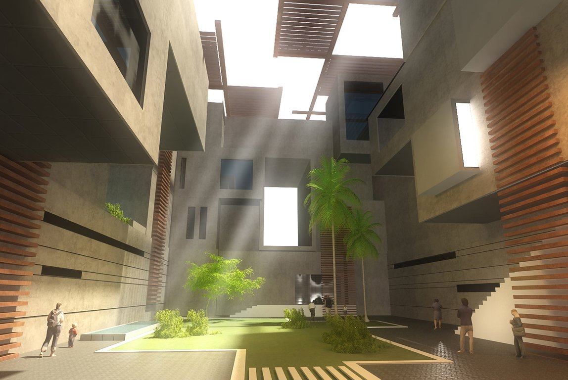 Block 36 westown shahira h fahmy architects for Solid void theory architecture