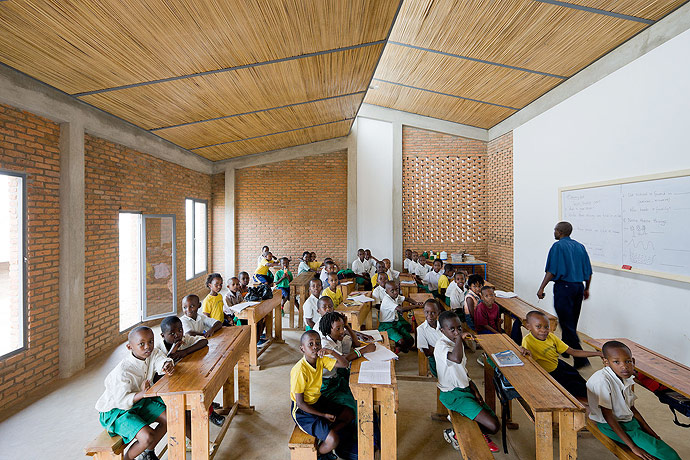 Umubano Primary School MASS Design Enchanting Interior Design Schools Massachusetts