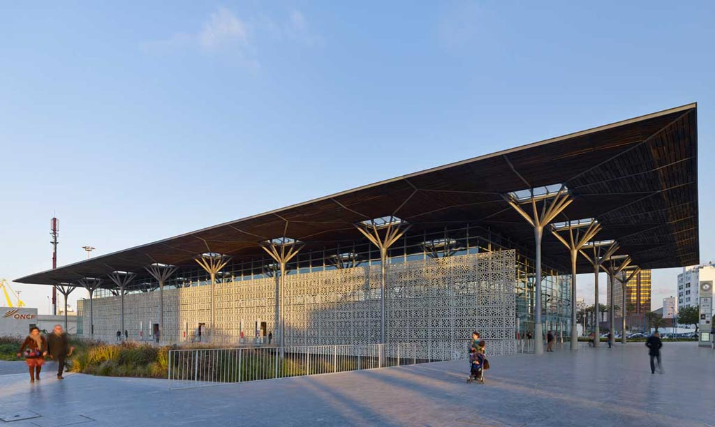 Bureau Architecture Casablanca : Casa port railway station arep