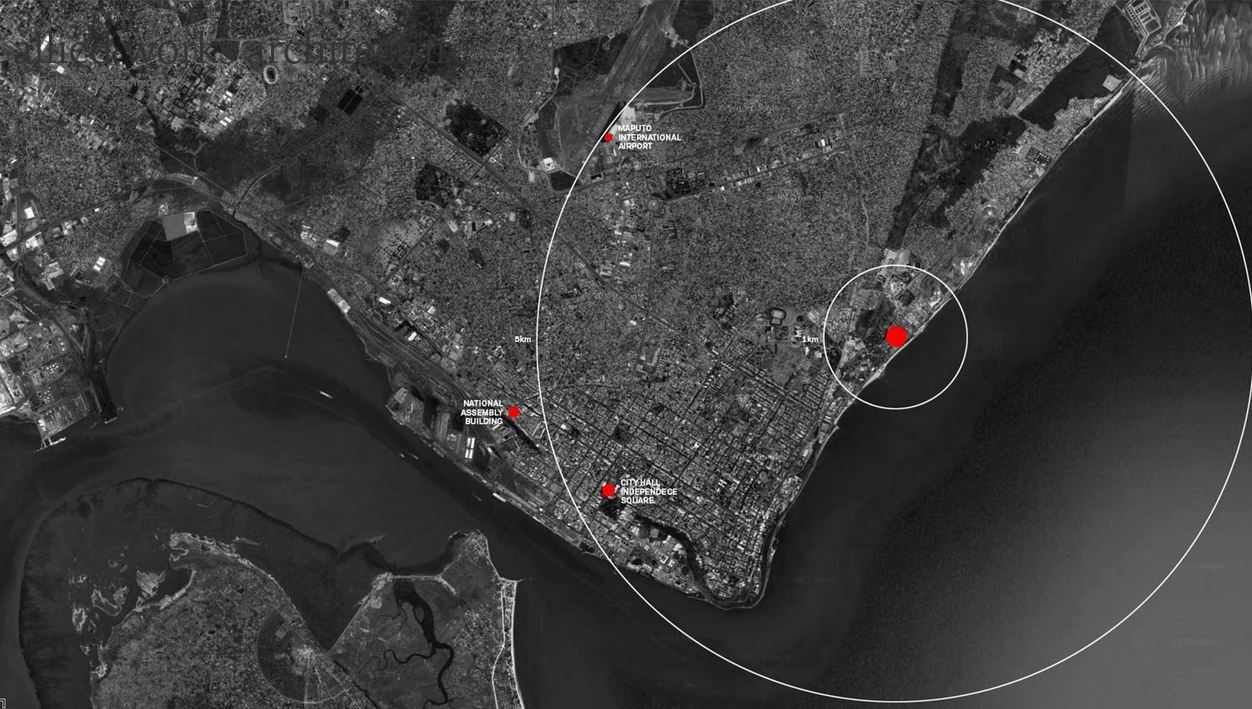 US Embassy Maputo Allied Works Architecture - Us embassy location map
