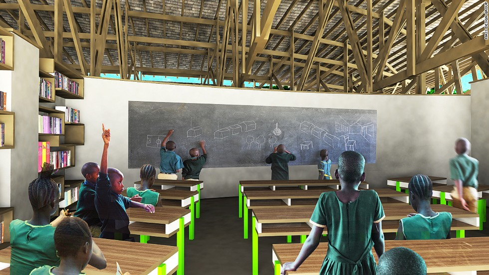 African Wildlife Foundation Ilima School Mass Design Group Best Interior Design Schools Massachusetts