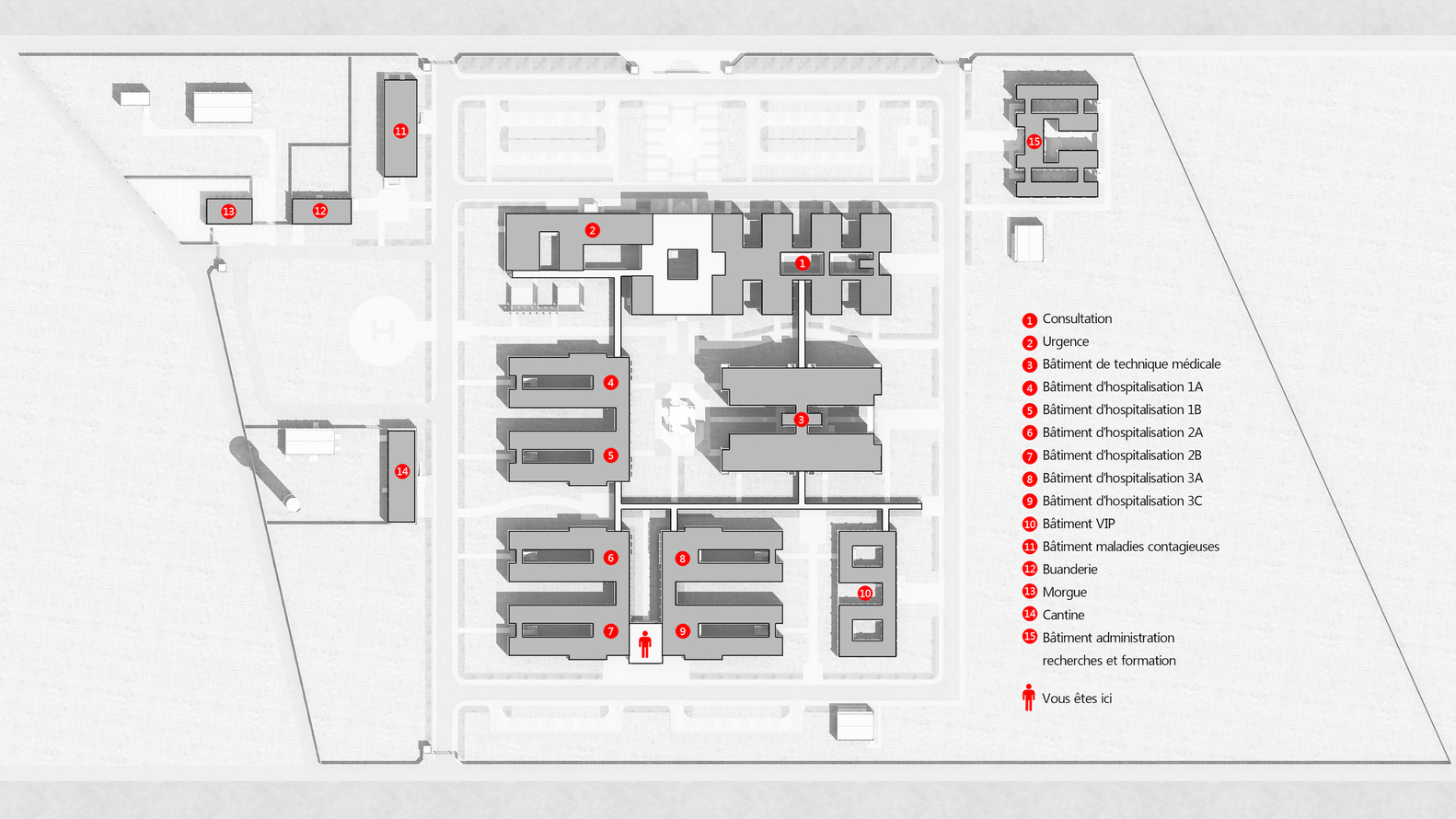 General Hospital of Niger / CITIC Architectural Design